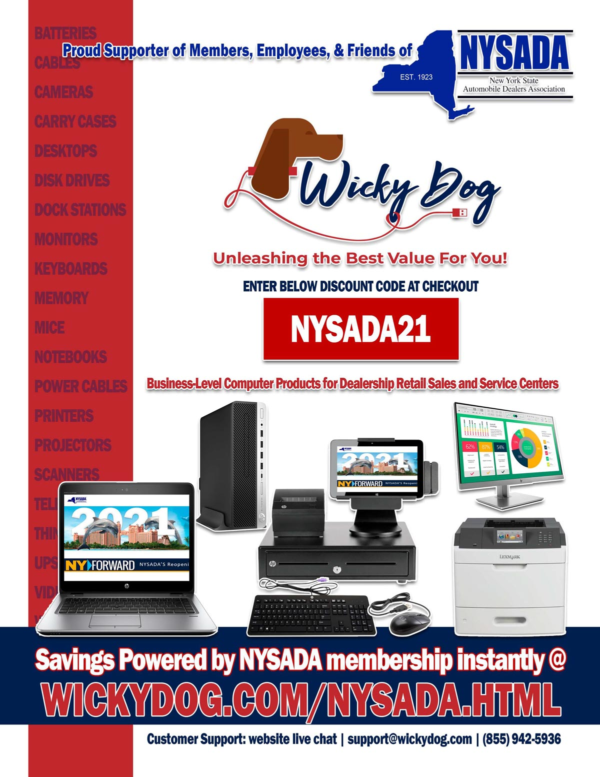WickyDog Welcomes All NYSADA Members, Families, & their Friends