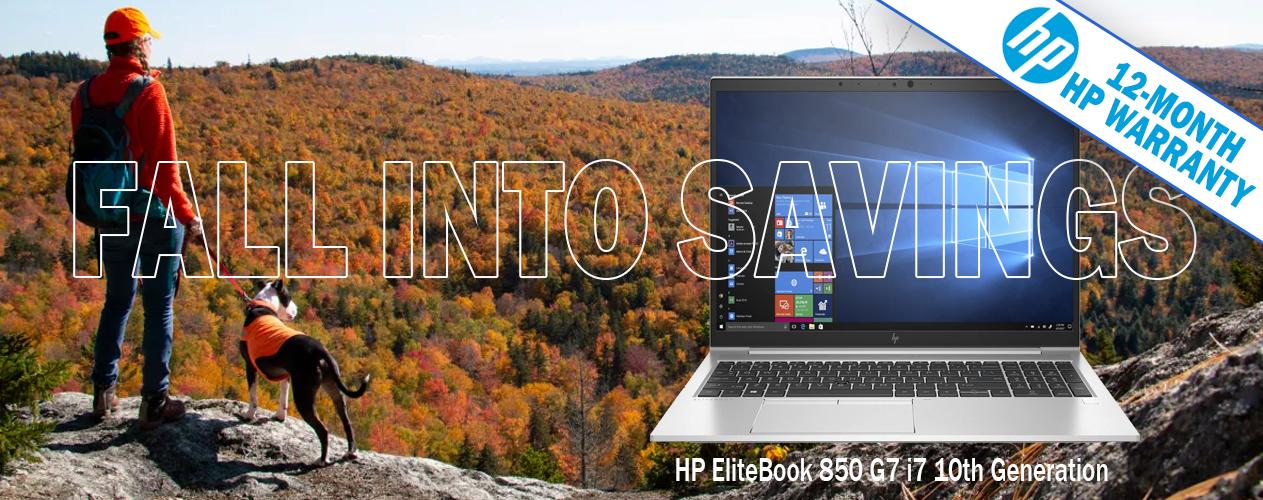 HP Certified Refurbished EliteBook 850 G7 from WickyDog.com